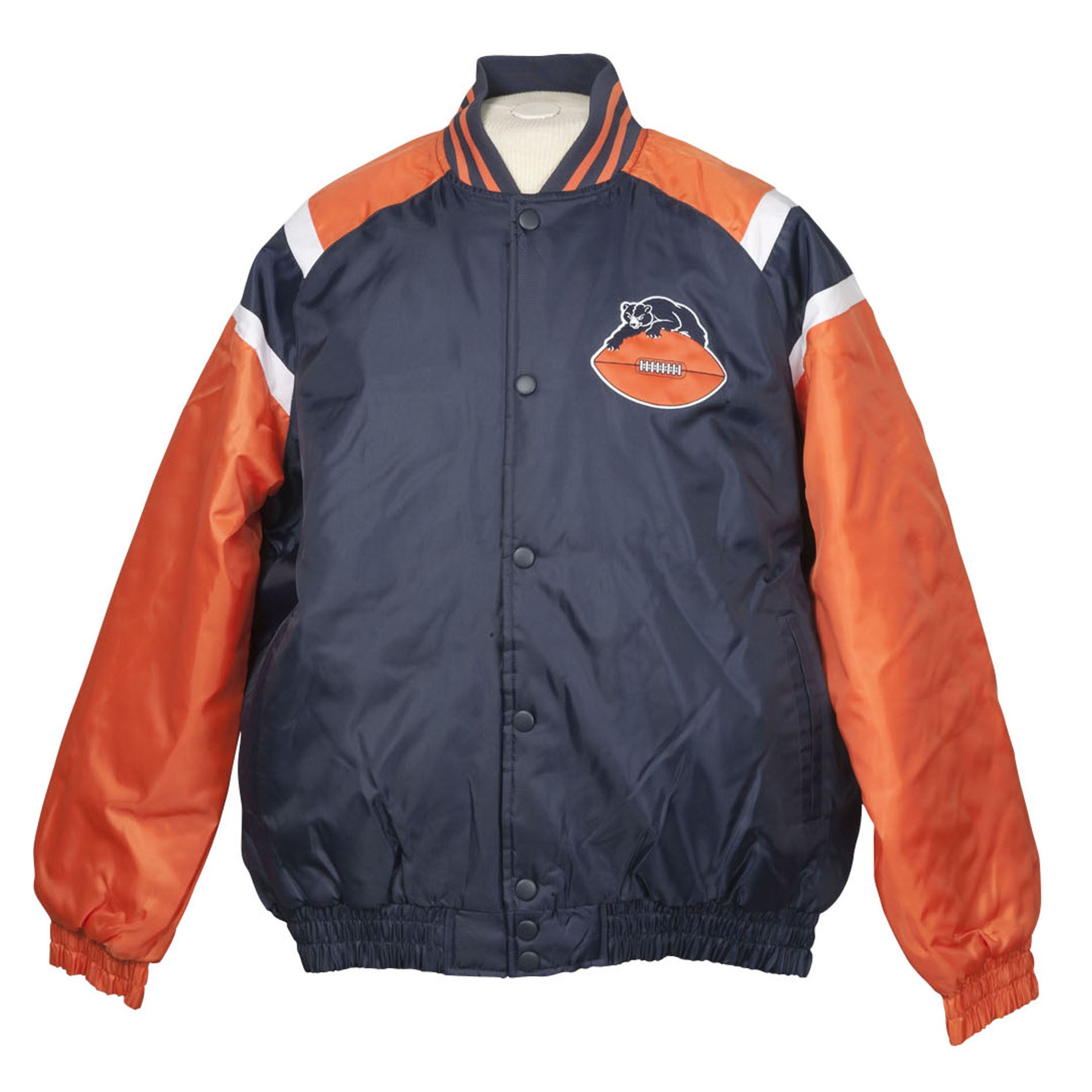 Chicago Bears Heavy Weight Throwback Winter Jacket
