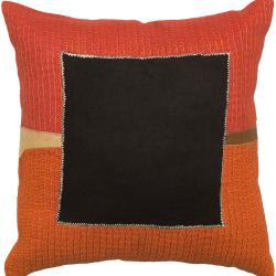 Down Filled 'Lismore' 18-inch Square Decorative Pillow