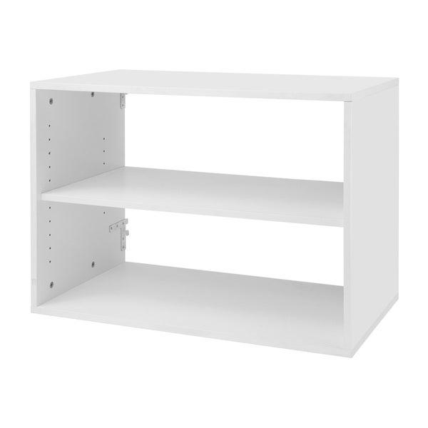 Organized Living freedomRail Big O-Box White Shelf Unit