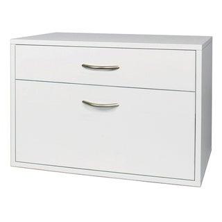 Organized Living freedomRail O-Box White Hanging File