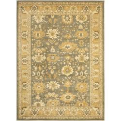 Safavieh Oushak Grey/ Gold Powerloomed Rug (8' x 11')