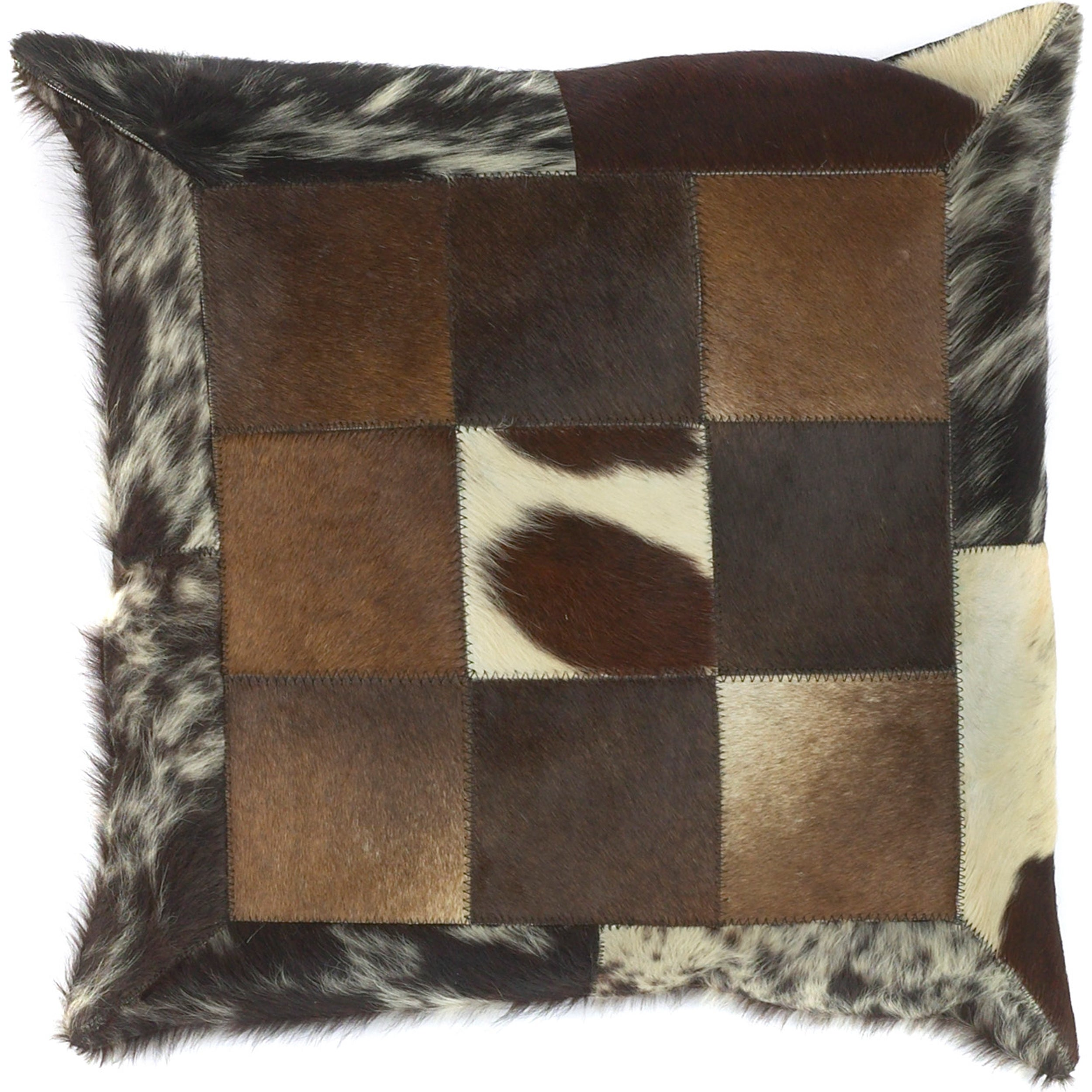 Grafton Faux Fur Down Filled Decorative Pillow Overstock