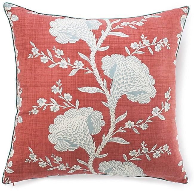 Geisha Rouge Cotton Pillow