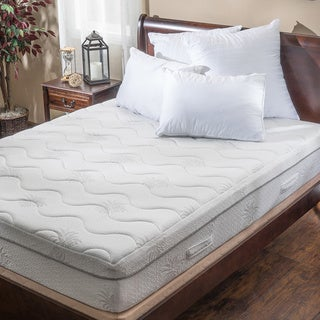 Christopher Knight Home Aloe Gel Memory Foam 11-inch Twin-size Smooth Top Mattress