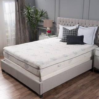 Christopher Knight Home Aloe Gel Memory Foam 11-inch Queen-size Smooth Top Mattress