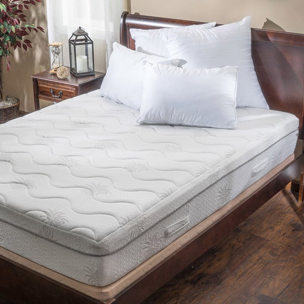 Christopher Knight Home Aloe Gel Memory Foam 11-inch King-size Smooth Top Mattress