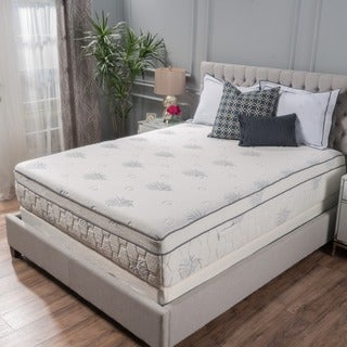 Christopher Knight Home Aloe Gel Memory Foam 13-inch Queen-size Pillow Top Mattress