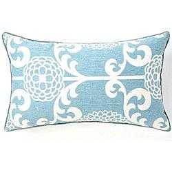Floret Sky Cotton Decorative Pillow