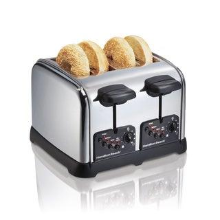 Hamilton Beach Chrome 4-slice Toaster