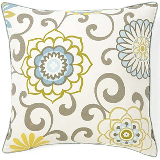 Ply-sky Cotton 20-inch Square Decorative Pillow