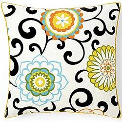 'Ply Confetti' 20-inch Square Cotton Decorative Pillow