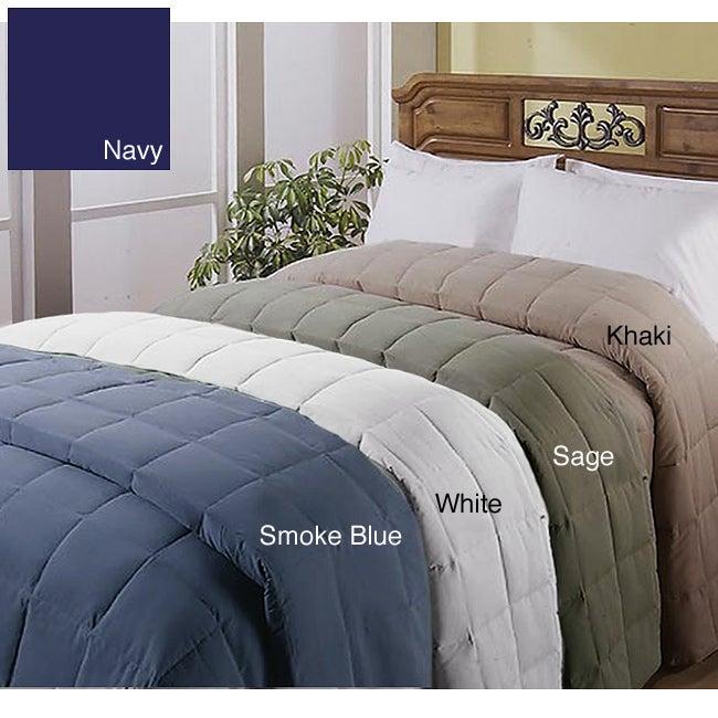 All-season Down-alternative Microfiber Blanket