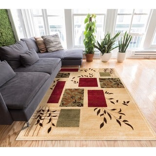 'Hannover' Ivory Area Rug (7'10 x 9'10)