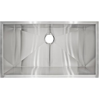 LessCare LP2 Designer Undermount Stainless Steel Sink