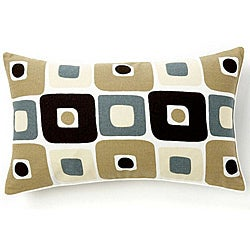 Geo Spa 12x20-inch Decorative Pillow