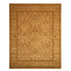 Hand-tufted Morris Beige Wool Rug (6' x 9')