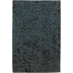 Julie Cohn Hand-knotted Elkton Abstract Design Wool Rug (5' x 8')