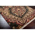 Hand-knotted Preston Semi-worsted New Zealand Wool Rug (8'6 x 11'6)