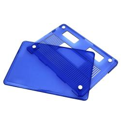 INSTEN Clear Dark Blue Snap-on Laptop Case Cover for Apple MacBook Pro