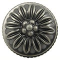 Stone Mill Hardware Dahlia Weathered Nickel Cabinet Knobs (Case of 25)