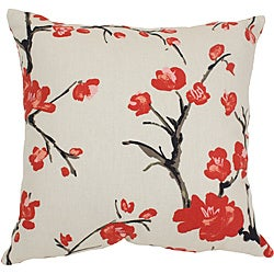 Pillow Perfect 'Flowering Branch' Square Throw Pillow