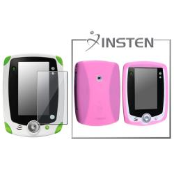 INSTEN Pink Phone Case Cover/ Screen Protector for LeapFrog LeapPad
