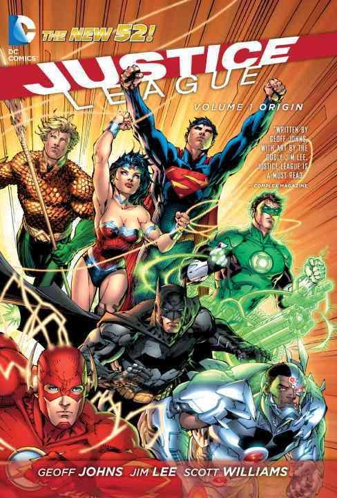 Justice League 1: Origin (Hardcover)