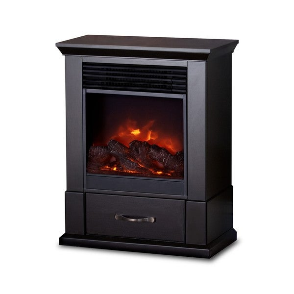 The Barrington Real Flame Electric Fireplace