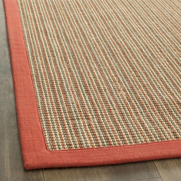 Safavieh Dream Natural Fiber Rust Sisal Rug (2' 6 x 8')