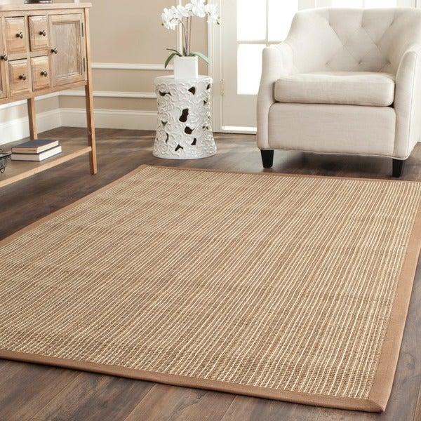 Safavieh Dream Natural Fiber Beige Sisal Rug (5' x 7' 6)