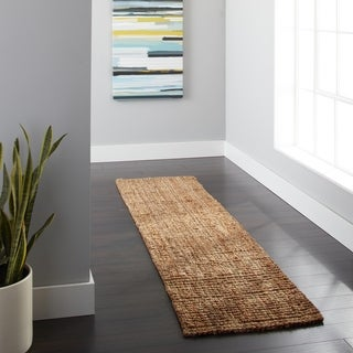 Safavieh Hand-woven Weaves Natural-colored Fine Sisal Runner (2' x 8')