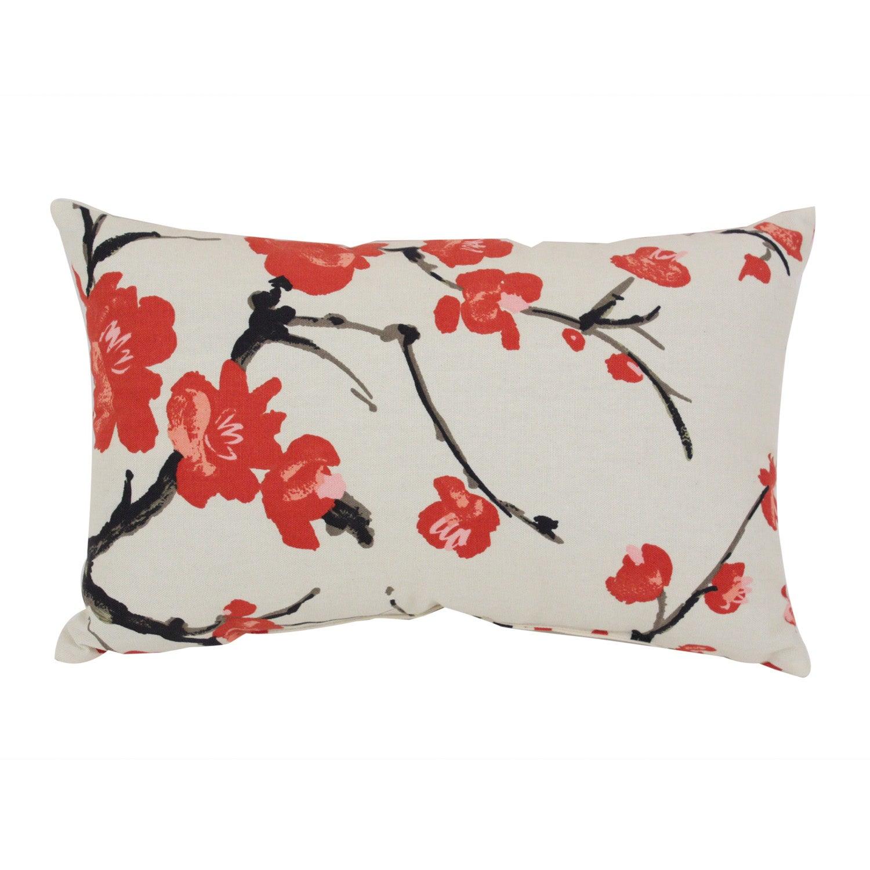 Pillow Perfect 'Flowering Branch' Throw Pillow