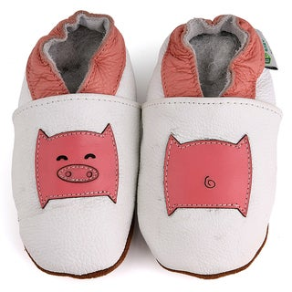 Little Pig Soft Sole Leather Baby Shoes