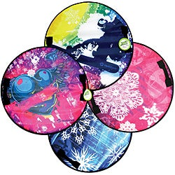 Hedstrom Multicolor Sno Speedster Cushion Foam/PVC/Vinyl Sled