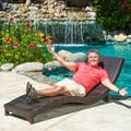 Christopher Knight Home Outdoor Wicker Lounge