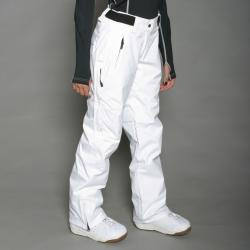 Marker Women's Betty Insulated White Snowboard Pants