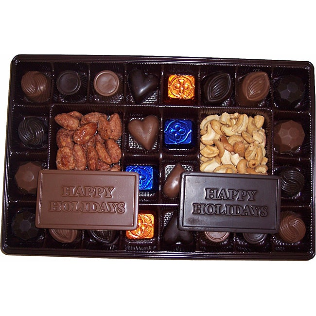 Lang's Chocolates Happy Holiday 26-piece Assorted Milk and Dark Chocolates