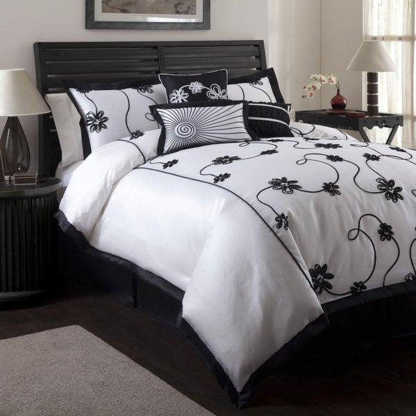 Lush Decor Milione Fiori 7-piece Comforter Set