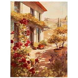 Fabrice de Villeneuve's 'A Dream of Summer' Giclee Canvas Art