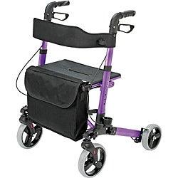 HealthSmart Purple Gateway Folding Rollator