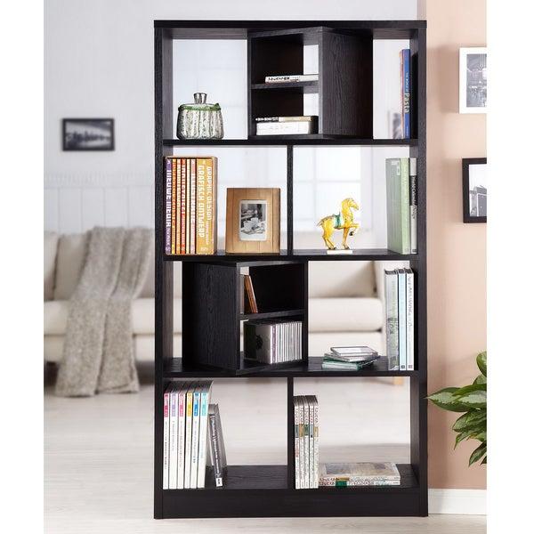 Furniture of America Modern Swivel Blocks Bookcase/ Display Stand