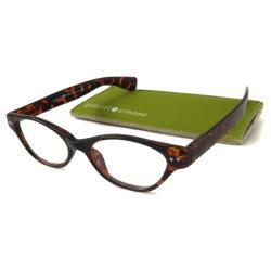 Tortoise Gabriel+Simone Women's 'Le Maire' Cat-Eye Reading Glasses