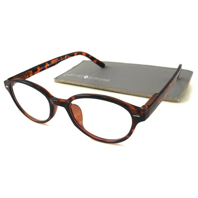 Gabriel+Simone Women's 'Mademoiselle' Round Reading Glasses
