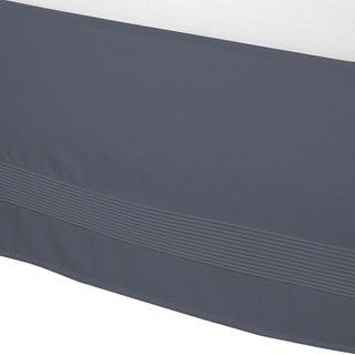 Solid 15-inch Drop Pintuck Bedskirt