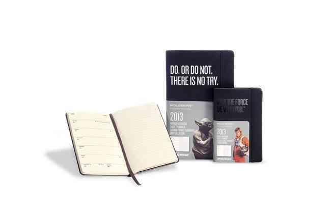 Moleskine Star Wars 2013 Calendar: Black, Pocket Weekly Notebook Diary / Planner (Calendar)