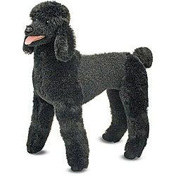 Melissa & Doug Plush Standard Poodle Stuffed Animal