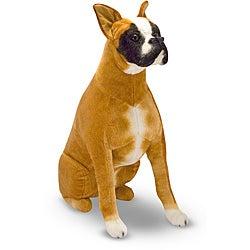 Melissa & Doug Plush Boxer Stuffed Animal