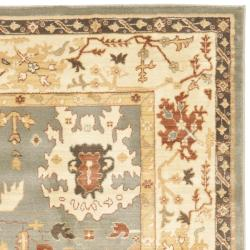Safavieh Oushak Blue/ Cream Powerloomed Rug (8' x 11')
