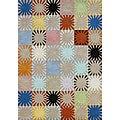 Alliyah Handmade Multicolored New Zealand Blend Wool Rug (4' x 6')