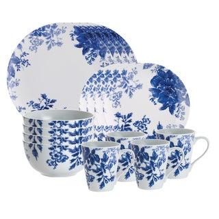 Paula Deen Dinnerware Tatnall Street 16-piece Set, Bluebell